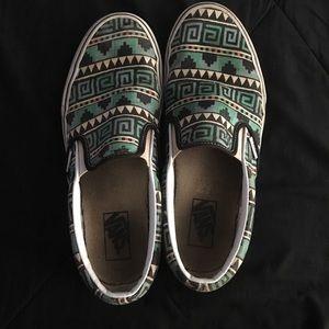 Vans Aztec Design Women 11